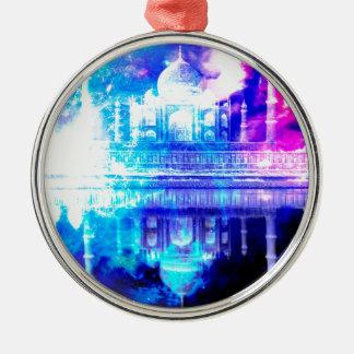 Ornamento De Metal Sonhos de Taj Mahal do céu da criação