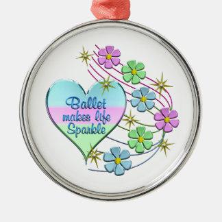 Ornamento De Metal Sparkles do balé