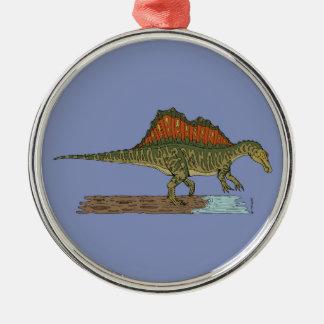 Ornamento De Metal Spinosaurus