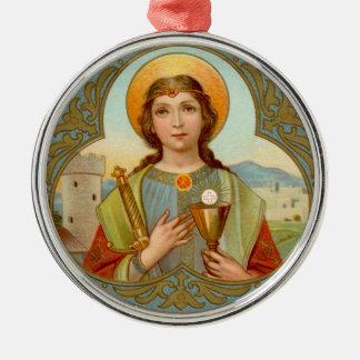 Ornamento De Metal St. Barbara (BK 001)