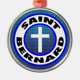 Ornamento De Metal St Bernard