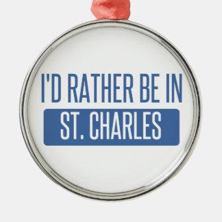 Ornamento De Metal St Charles