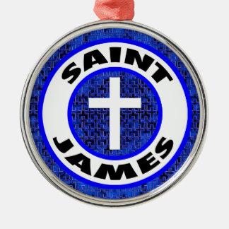 Ornamento De Metal St James