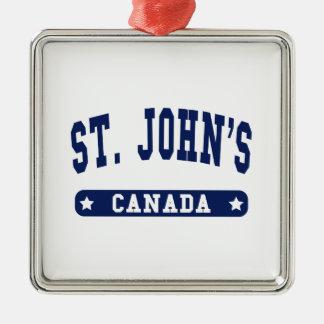 Ornamento De Metal St John