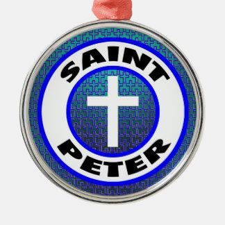 Ornamento De Metal St Peter