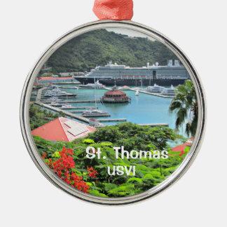 Ornamento De Metal St Thomas USVI