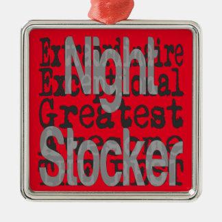 Ornamento De Metal Stocker da noite Extraordinaire