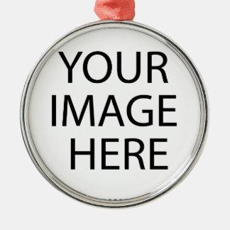 Ornamento De Metal Sua imagem aqui