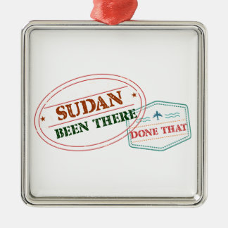 Ornamento De Metal Sudão feito lá isso