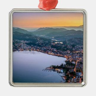 Ornamento De Metal Suiça de Lugano