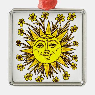 Ornamento De Metal Sunhine