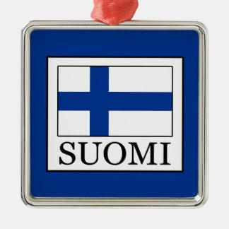 Ornamento De Metal Suomi
