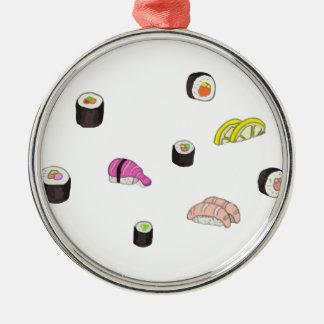 Ornamento De Metal Sushi e Sashimi