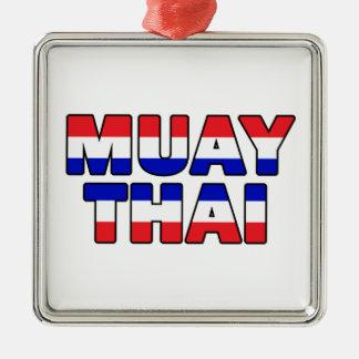 Ornamento De Metal Tailandês de Muay