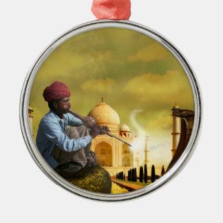 Ornamento De Metal Taj Mahal