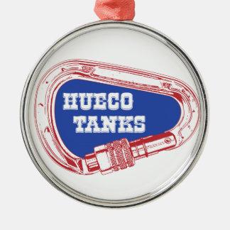 Ornamento De Metal Tanques Carabiner de Hueco