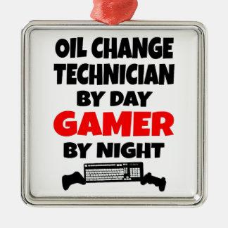Ornamento De Metal Técnico da mudança de óleo do Gamer