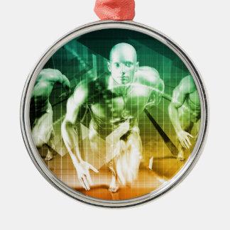 Ornamento De Metal Tecnologia avançada como ELE fundo do conceito