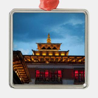 Ornamento De Metal Telhado budista de Dzong