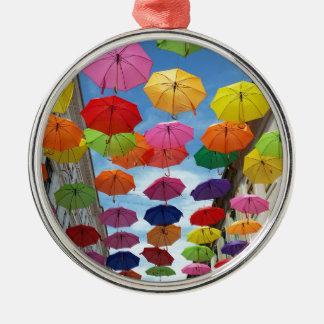 Ornamento De Metal Telhado dos guarda-chuvas