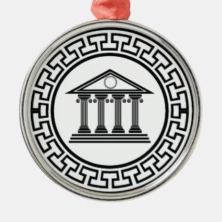 Ornamento De Metal Templo grego