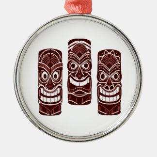 Ornamento De Metal Tempo de Tiki