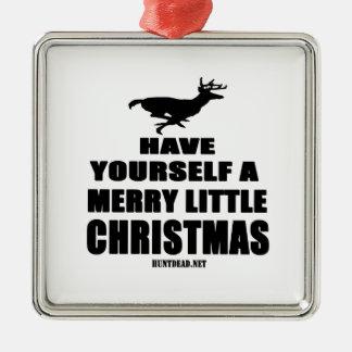 Ornamento De Metal Tenha você mesmo um alegre pouco Natal