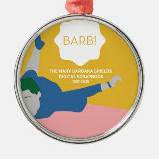 Ornamento De Metal Ténis de mesa Barb