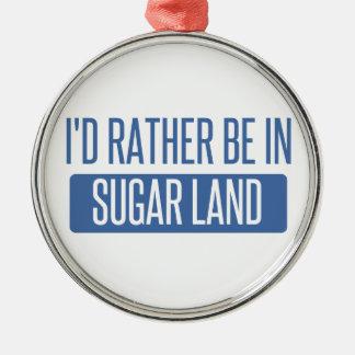Ornamento De Metal Terra do açúcar