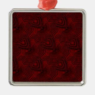 Ornamento De Metal Teste padrão 4 do Natal