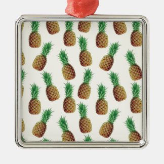 Ornamento De Metal Teste padrão do papel de parede do abacaxi