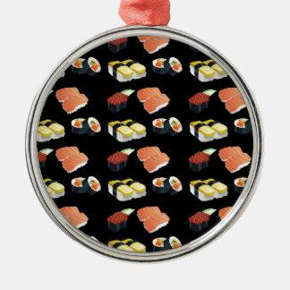 Ornamento De Metal Teste padrão do sushi