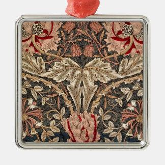 Ornamento De Metal Teste padrão do vintage da madressilva de William