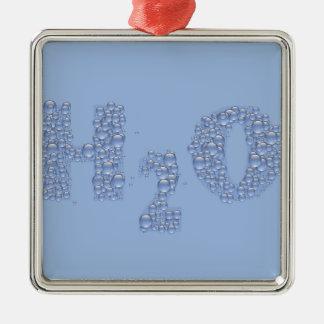 Ornamento De Metal texto da água