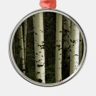 Ornamento De Metal Textura de um retrato da floresta