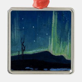 Ornamento De Metal Thomson - aurora boreal