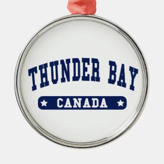 Ornamento De Metal Thunder Bay
