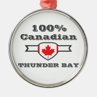 Ornamento De Metal Thunder Bay 100%