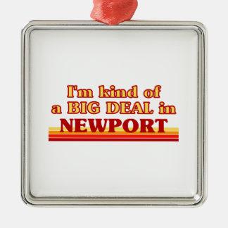 Ornamento De Metal Tipo de I´m de uma grande coisa em Newport