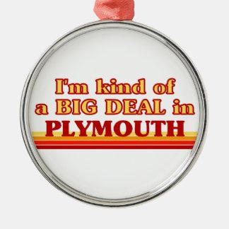 Ornamento De Metal Tipo de I´m de uma grande coisa em Plymouth