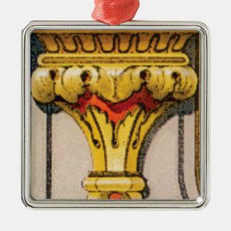 Ornamento De Metal tocha dourada da glória