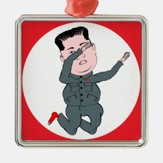 Ornamento De Metal Toque ligeiro do Un de Kim Jong da Coreia do Norte