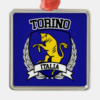 Ornamento De Metal Torino