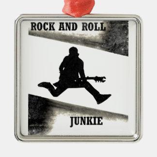 Ornamento De Metal Toxicómano do rock and roll