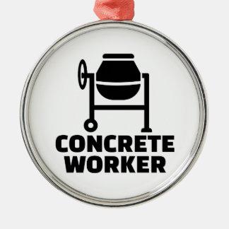 Ornamento De Metal Trabalhador concreto