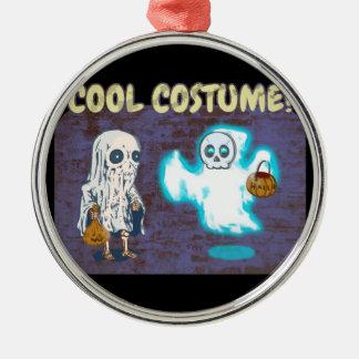 Ornamento De Metal Traje do fantasma e do esqueleto