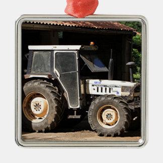 Ornamento De Metal Trator cinzento, EL Camino, espanha