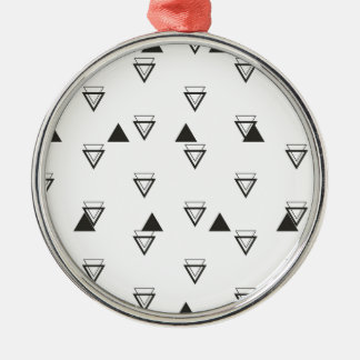 Ornamento De Metal triângulo