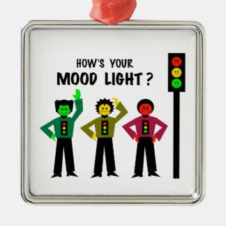 Ornamento De Metal Trio temperamental do sinal de trânsito como é sua