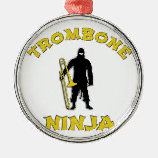Ornamento De Metal Trombone Ninja